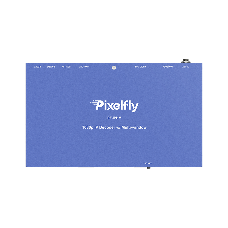 Pixelfly HDMI over IP Decoder with multi-window