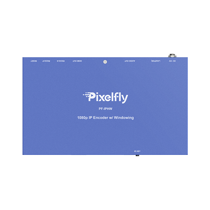 Pixelfly HDMI over IP video processor with windowing
