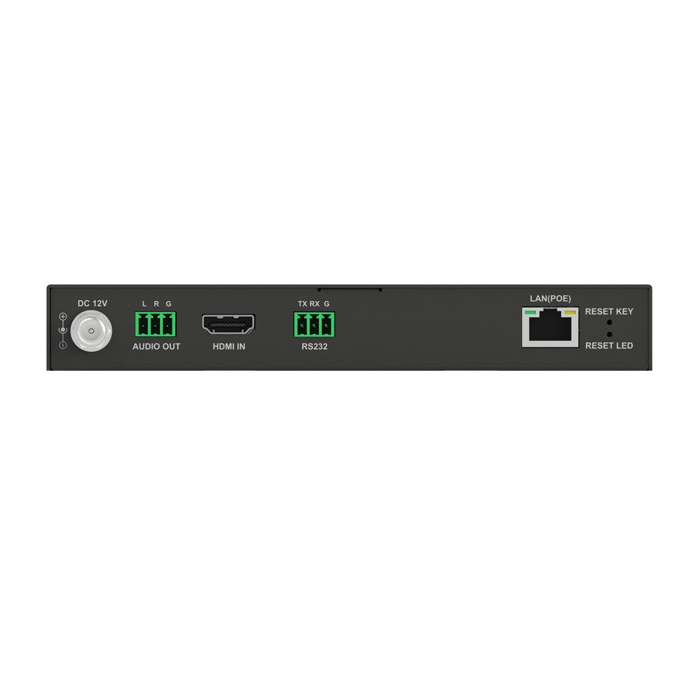 No Configuration H.265 IP Video Encoder with PoE, Video Wall and Visual Control