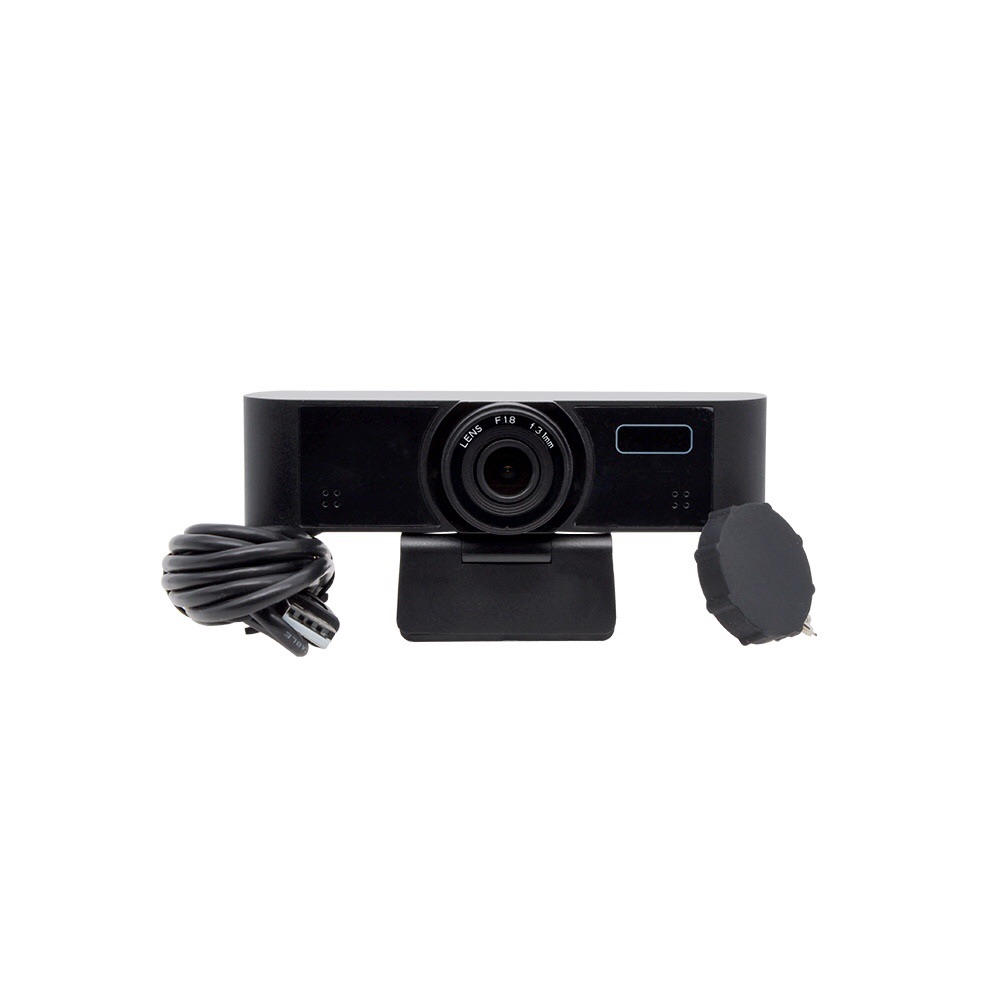 1080P USB PTZ Camera for Video Conference, 83° Ultra-Wide Angle Lens, 3D DNR